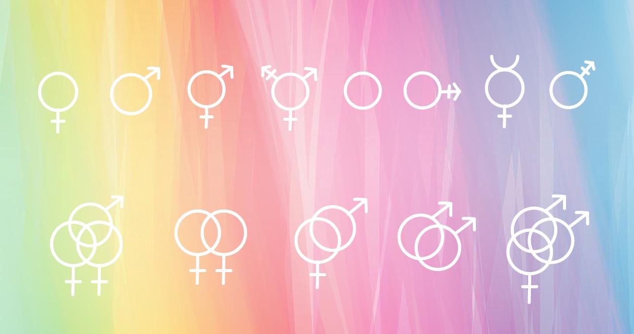Gender Identity and Sexual orientation symbols