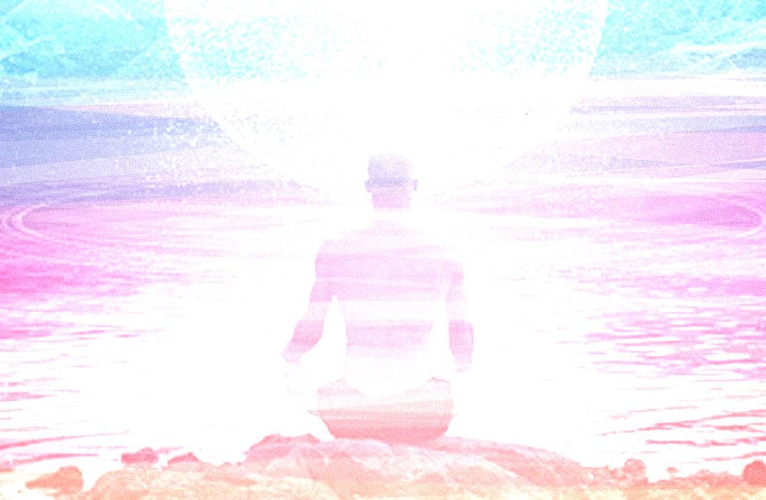 Man meditating - Tantric Sexuality